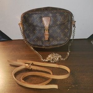 Fair to poor condition LV Crossbody Bag